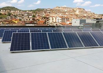 energia rinnovabile fotovoltaico liceo senise