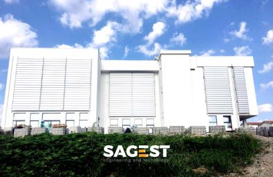 Construction of the new liceo classico in senise pz sagest for New and innovative heating and cooling system design
